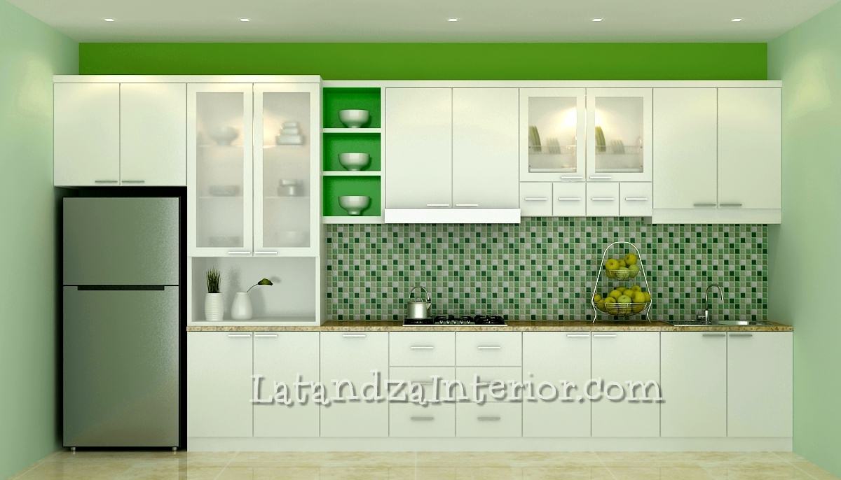 Modern Kitchen Set Design
