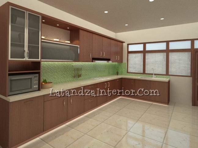 Modern Kitchen Set Design Latandza Interior Furniture